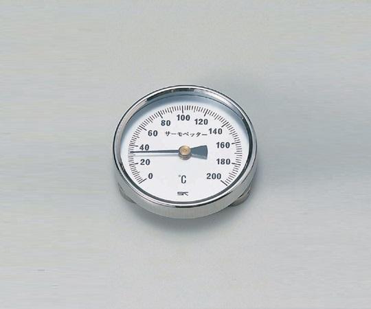 アズワン(AS ONE) バイメタル温度計 サーモペッター 200(1-600-01)