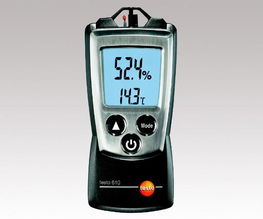 アズワン(AS ONE) ポータブル温湿度計 testo610(1-6444-01)