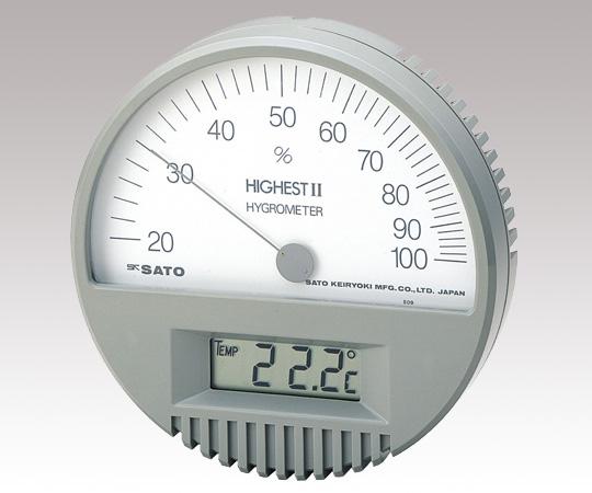 アズワン(AS ONE) 精密温湿度計 7542(1-623-01)