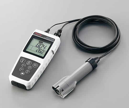 アズワン(AS ONE) ラコムテスターハンディタイプ pH・導電率計(PC450COMBI)(1-4652-11)