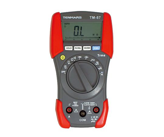 アズワン(AS ONE) デジタルマルチメーター 3999カウント・LCD 2.5/sec バーグラフ機能有り(2-9496-02)