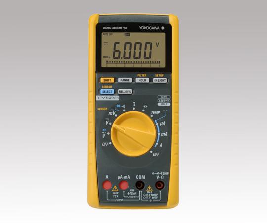 アズワン(AS ONE) デジタルマルチメーター TY520(1-2100-01)