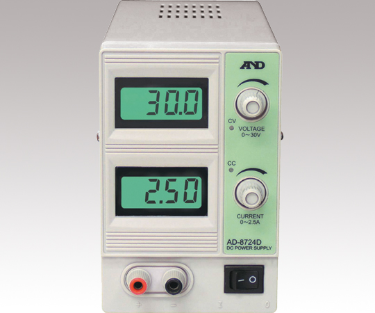 アズワン(AS ONE) 直流安定化電源 30V-2.5A AD-8724D(1-5314-12)