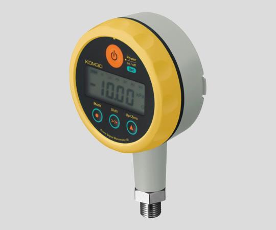 アズワン(AS ONE) 圧力計KDM30-500kPaG-BYL(2-9204-01)