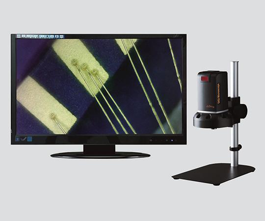 アズワン(AS ONE) デジタルマイクロスコープ(長距離撮影対応) 本体(HDMI/PC接続)(2-9560-01)