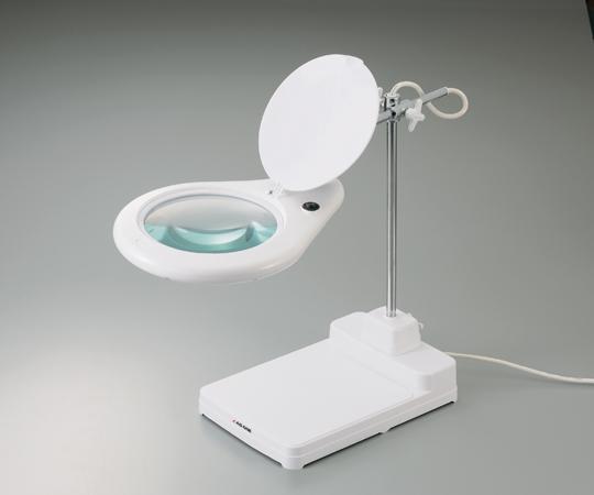 アズワン(AS ONE) スタンド式照明拡大鏡8062D3LED(1-2962-01)