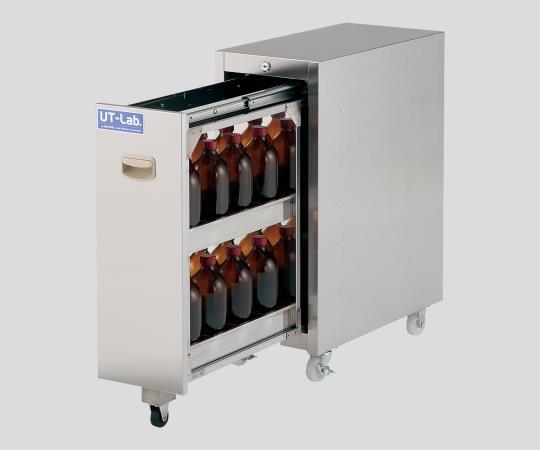 アズワン(AS ONE) 薬品保管ユニット 251×500×652mm(2-708-01)