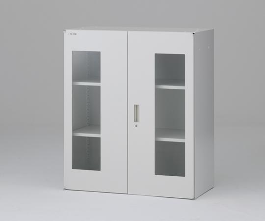 アズワン(AS ONE) セレクトラボ ガラス両開き扉 750×450×1050mm(1-3362-02)
