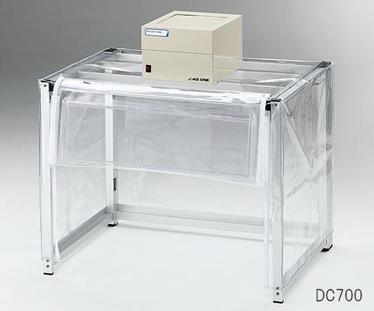アズワン(AS ONE) 折りたたみ粉体計量ドラフト ファンユニット1台付き 700×500×550(700)(3-6789-01)
