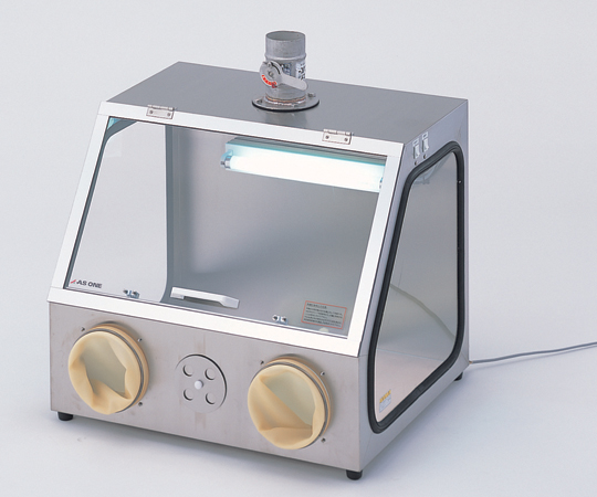 アズワン(AS ONE) パソリナグローブボックス  排気ダクト付(3-4041-02)