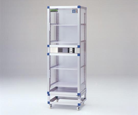 アズワン(AS ONE) オートドライデシケーターFN 574×524×1770mm 強化プラスチック棚板(1-5503-41)