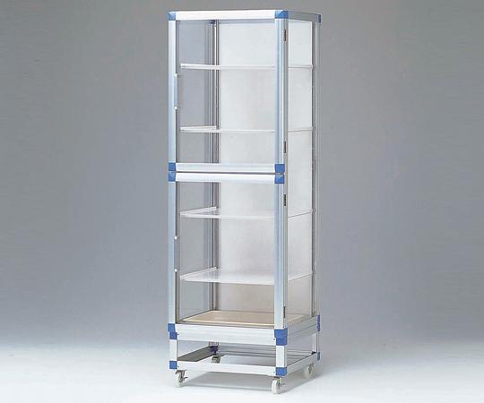 アズワン(AS ONE) スタンダードデシケータージャンボ 1152×517×1765mm  強化プラスチック棚(1-5209-13) 【運賃別途】