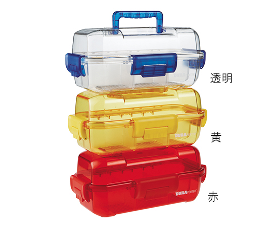 アズワン(AS ONE) 防塵防湿キャリー HS120077(赤)(3-5990-02)