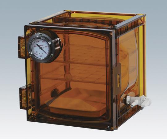 アズワン(AS ONE) 真空デシケーター(UVカットタイプ) 322×285×271mm(1-612-02)
