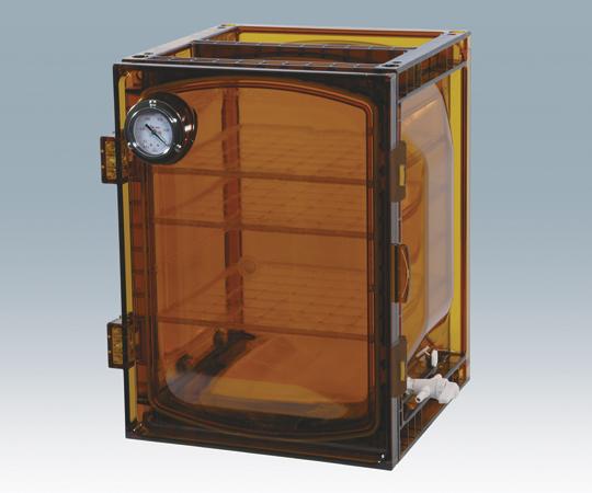 アズワン(AS ONE) 真空デシケーター(UVカットタイプ) 420×397×491mm(1-612-04)