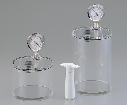アズワン(AS ONE) ミニ真空容器 φ150×223mm(1-4467-02)