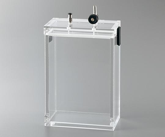 アズワン(AS ONE) 小型真空デシケーター 135×60×200mm(2-4920-09)