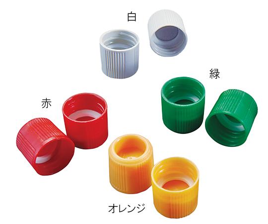アズワン(AS ONE) サンプルチューブ(外ネジ)用キャップ T502O オレンジ 1000個入(3-7005-15)