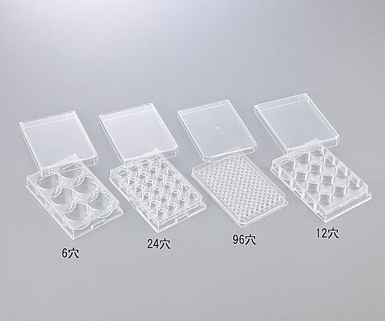 アズワン(AS ONE) 微生物培養用プレート 12穴(1-8355-04)