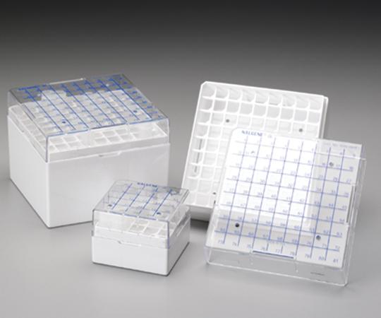 アズワン(AS ONE) クライオボックス 4~5mL×81本(1-9563-03)