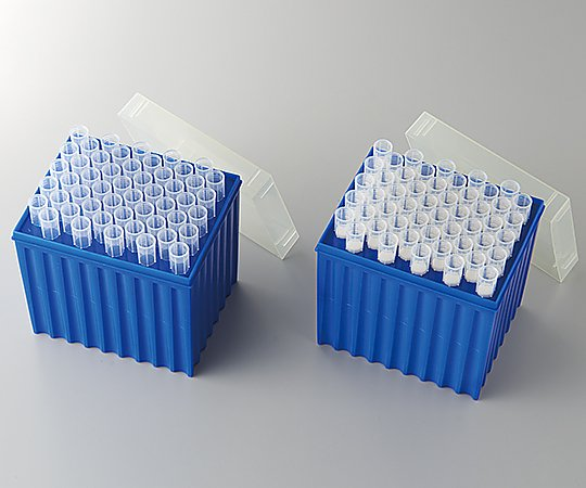 アズワン(AS ONE) ピペットチップ・マクロ 5mL γ線滅菌済 フィルター付 4421-SF 50本/ラック×10ラック(2-4969-03)