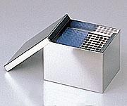 アズワン(AS ONE) チップラック&ラック収納滅菌缶BR-1 155×115×105mm(5-3106-05)