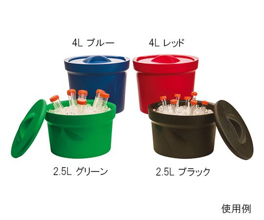 アズワン(AS ONE) アイスバケツ Magic Touch 2(TM) 容量 2.5L グリーン(3-6391-04)