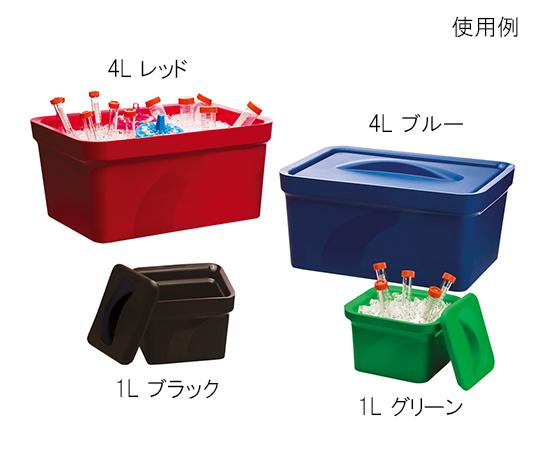 アズワン(AS ONE) アイスパン Magic Touch 2(TM) 容量 4L レッド(3-6458-03)