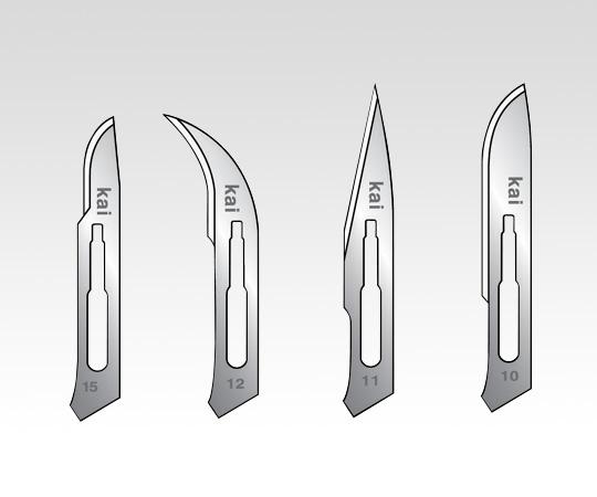 アズワン(AS ONE) メスホルダー 替刃 NO.11 200枚(1-8545-12)