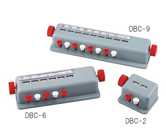 アズワン(AS ONE) 手動式白血球分類計数器 表示部 6個(3-6135-02)