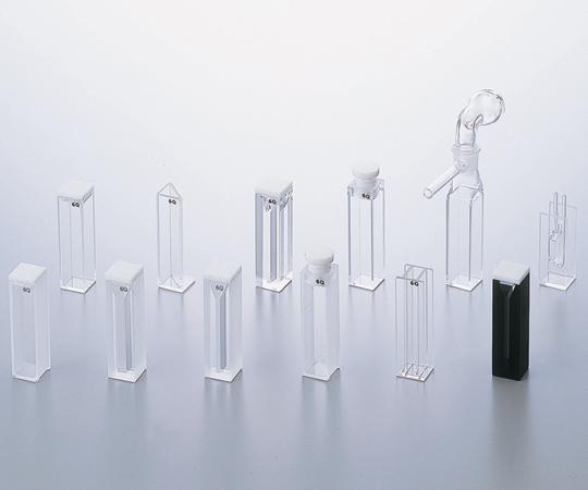 アズワン(AS ONE) スタルナ石英セル (UV用栓付きスタンダードセル) (2-474-04)