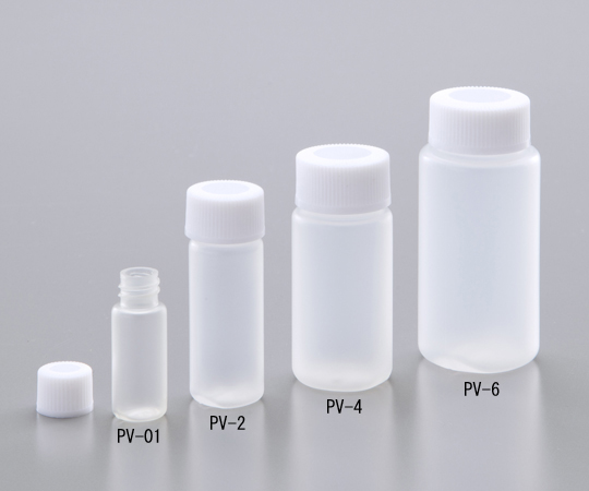 アズワン(AS ONE) PPバイアル瓶 11.0mL(1-8138-04)