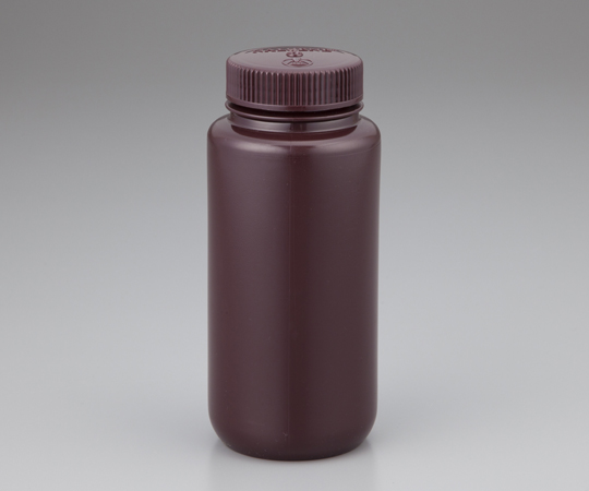 アズワン(AS ONE) 広口試薬ボトル 褐色 500mL(1-2687-05)