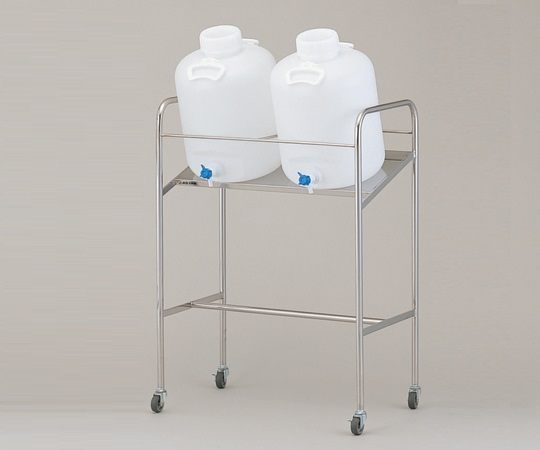 アズワン(AS ONE) 傾斜式ハンディーボトルスタンド 搭載ボトル数:20L×2個(1-4841-04)