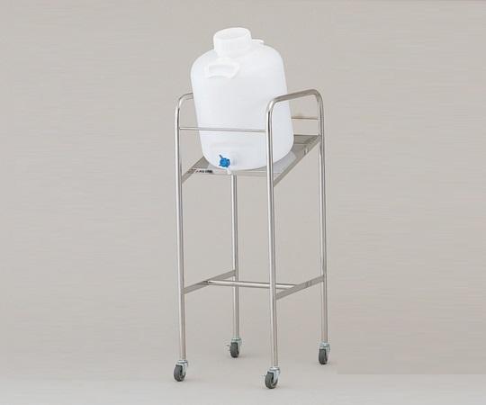 アズワン(AS ONE) 傾斜式ハンディーボトルスタンド 搭載ボトル数:10L×1個(1-4841-01)