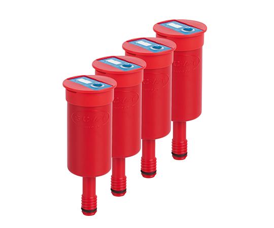 アズワン(AS ONE) 安全廃液キャップ用排気フィルター(2.5Lタンク用) 4個入(2-9654-05)