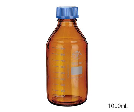 アズワン(AS ONE) ネジ口メディウム瓶 (遮光) 5000mL(3-6006-06)
