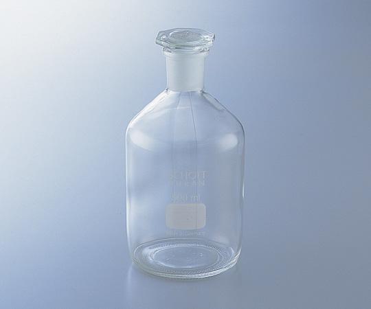 アズワン(AS ONE) 試薬瓶(栓付き)(デュラン(R)) 白 5000mL (1-8400-08)