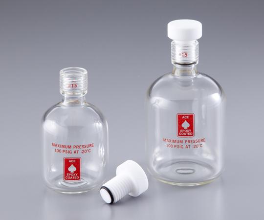 アズワン(AS ONE) 耐圧ボトル(ACE GLASS) 125mL(1-1371-02)