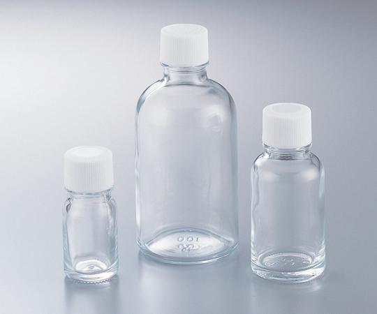 アズワン(AS ONE) 細口規格瓶 TK-100 透明 100mL 100本入(5-131-15)