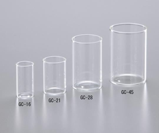 アズワン(AS ONE) ガラスカップ GC-16 φ13.6mm 300本入(1-8417-01)