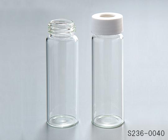 アズワン(AS ONE) 飲料水分析用バイアル(I-CHEM) S236-0040 クラス200 厚板セプタム 72本入(1-1374-03)