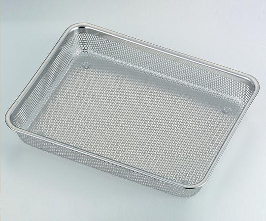アズワン(AS ONE) 浅角形ステンレスメッシュバット 6枚取 (481×337×50mm)(1-7471-07)