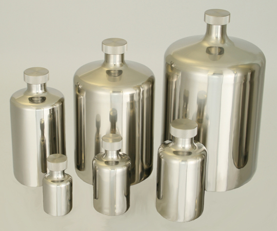 アズワン(AS ONE) 酸洗浄処理済ステンボトル 0.5L(5-154-01)