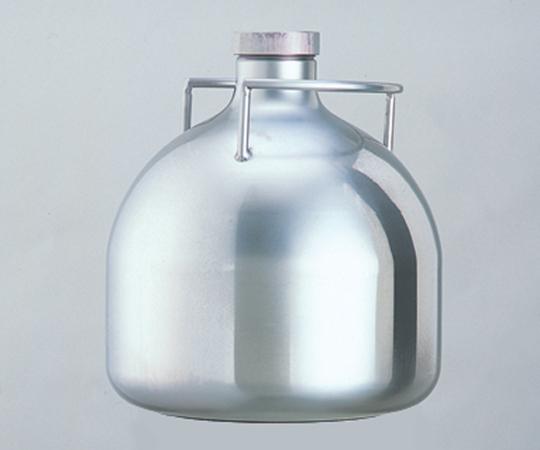 アズワン(AS ONE) 運搬に便利な 把手付ステンレスボトル 2L (1-9417-05)