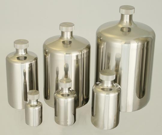 アズワン(AS ONE) 酸洗浄処理済ステンボトル 0.2L(5-154-06)