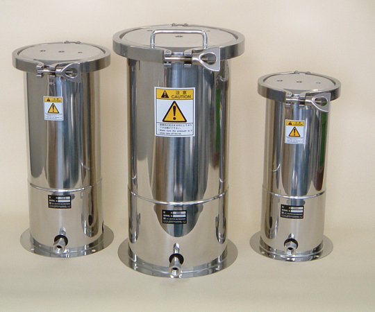 アズワン(AS ONE) 開口部が広い ステンレス加圧容器 1L(1-9524-01)