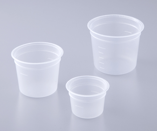 アズワン(AS ONE) ミニディスポカップ(バキュームタイプ) 50mL 1000個入(1-1457-53)