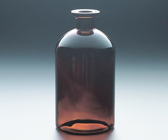 アズワン(AS ONE) 平面自動ビュレット用瓶(パイプメイド) 2000mL 茶(1-8579-14)
