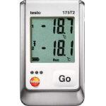 テストー 温度データロガ内蔵1チャンネル+外付1チャンネル TESTO175T2/1台【3924866】